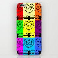 spongebob iPhone & iPod Skins featuring Spongebob by chauloom