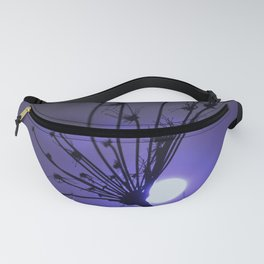Silhouette On Blue Fanny Pack