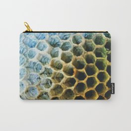 Hexagonal Homes Carry-All Pouch