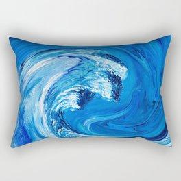 Frozen Wave Rectangular Pillow