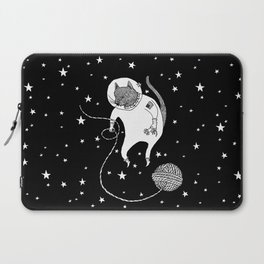Space Cat Proves String Theory Exists Laptop Sleeve