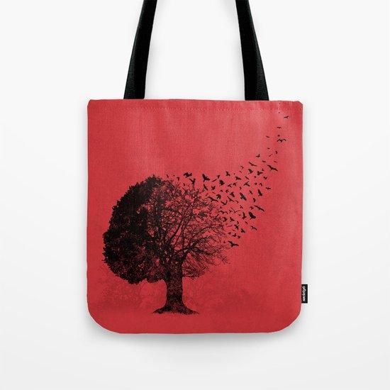 Autumn Birds Tote Bag