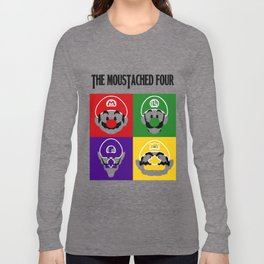 THE MOUSTACHED FOUR Long Sleeve T-shirt