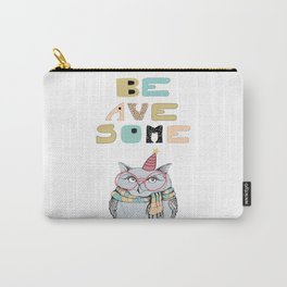 Awesome owl Carry-All Pouch