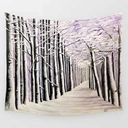 DOWN THE ROAD Wall Tapestry