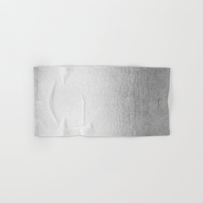 Moonlight Silver Hand & Bath Towel