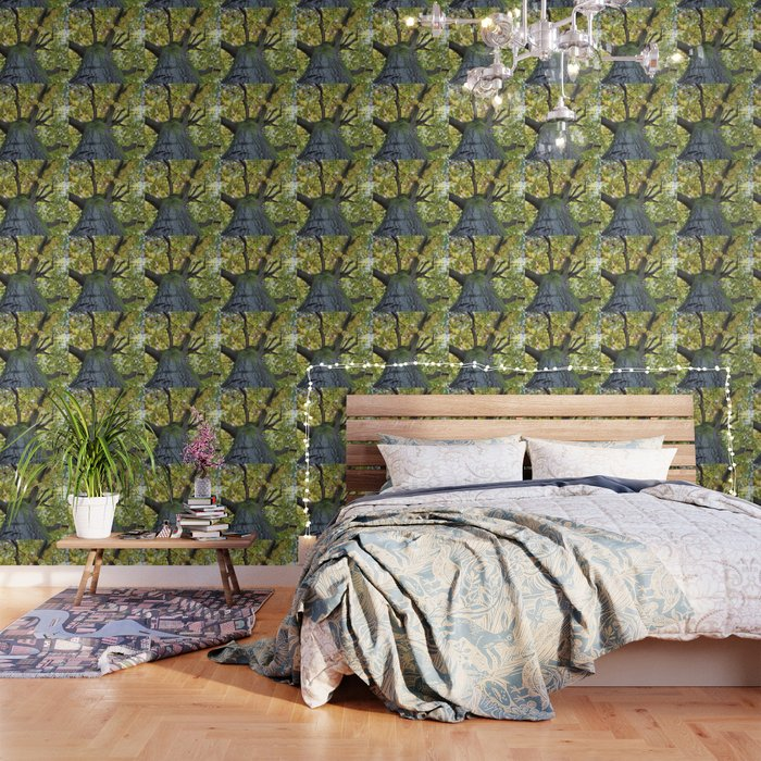 Giant Oak Tree Golden Leaves Wallpaper By Nataliecatlee