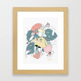 WAITING FOR BETTER THINGS Framed Art Print