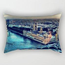 London watercolor Rectangular Pillow