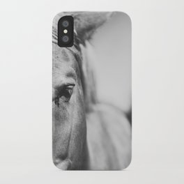 The Spirited Horse iPhone Case