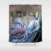 nightmare Shower Curtains featuring Nightmare by Robert Elrod