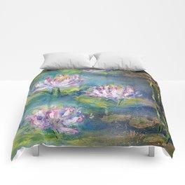 LOTUS RISING Comforters