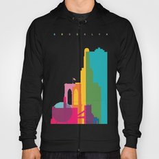 Shapes of Brooklyn. Accurate to scale Hoody