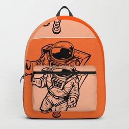Astronaut (Bright Orange) Backpack