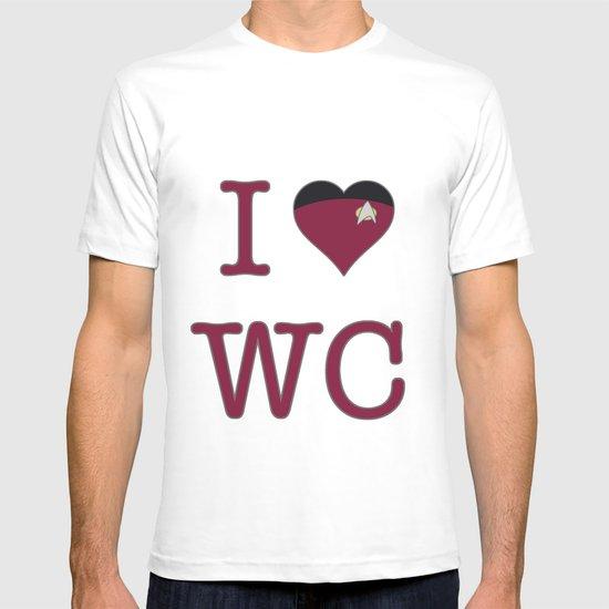 I Heart Wesley Crusher T-shirt