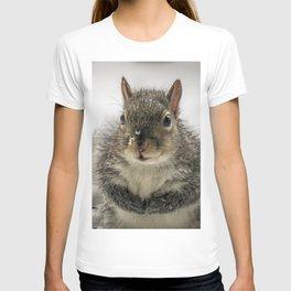 Adorable Praying Squirrel..Feed ME!! T-shirt