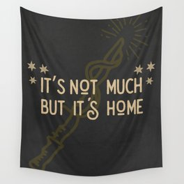 But Its Home Potter Puff Wall Tapestry