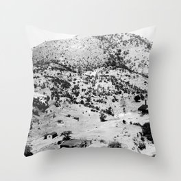 Santa Cruz County, Arizona. 1909 Throw Pillow