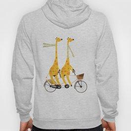 lets tandem giraffes Hoody