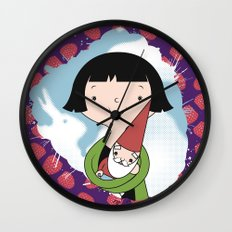 Help People not Gnomes Wall Clock