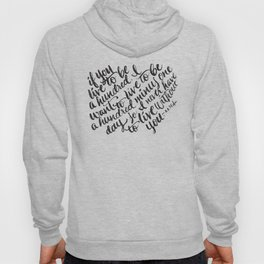 LIVE TO BE 100 Hoody