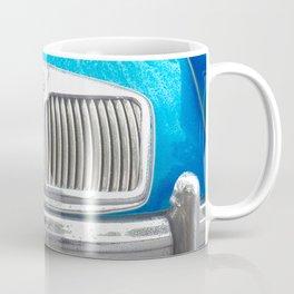 Blue MG Car Coffee Mug