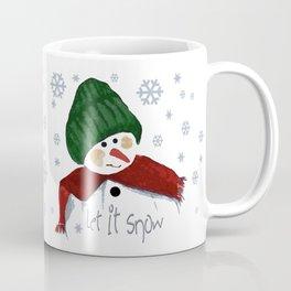 Let's build a snowman, let it snow Coffee Mug