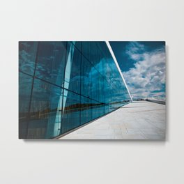 OPERA HOUSE OSLO Metal Print