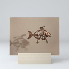 Flying Fish Mini Art Print