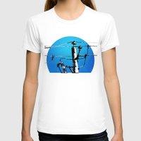 transformer T-shirts featuring Transformer Sky by Rebecca Joy - Joy Art and Design