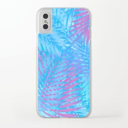 Palmy Clear iPhone Case