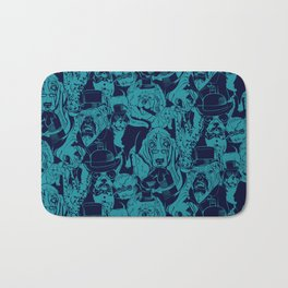 Dapper Dog_Teal Bath Mat