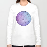 floral pattern Long Sleeve T-shirts featuring FLORAL PATTERN by VIAINA