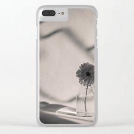 Flowerpot in the sun Clear iPhone Case
