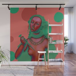 """An Alternative & Psychedelic Lucretia"" Wall Mural"
