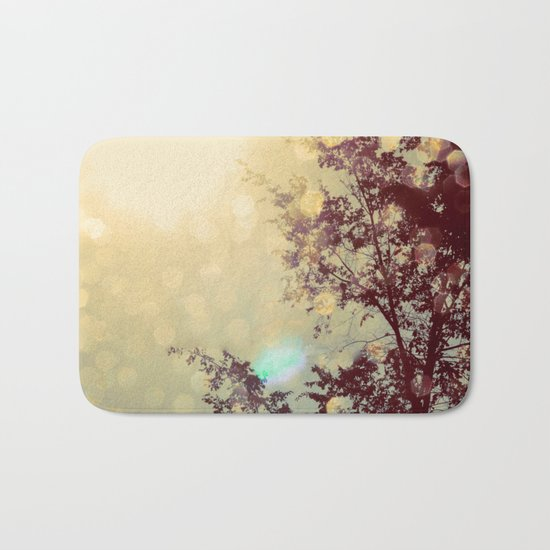 golden sky Bath Mat