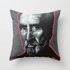 Christopher Lee Throw Pillow