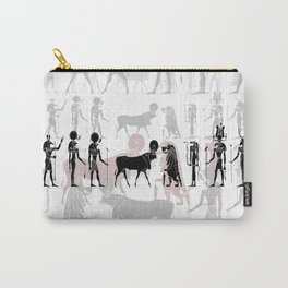 Egyptian gods, goddess, creatures and demons Carry-All Pouch