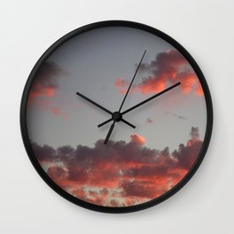 Summer Sunset #1 Wall Clock