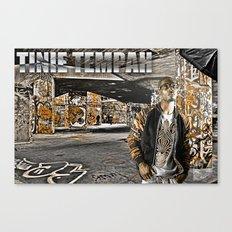 Street Phenomenon Tinie Tempah Canvas Print
