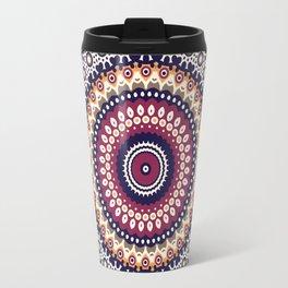 Mandala Flower Bohemian Gypsy Soul Travel Mug