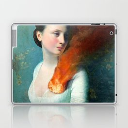 Portrait of a Heart Laptop & iPad Skin