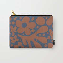 Abstraction_Floral_Pattern_Art_Minimalism_001 Carry-All Pouch
