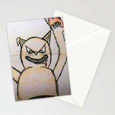 Killer cat Stationery Cards