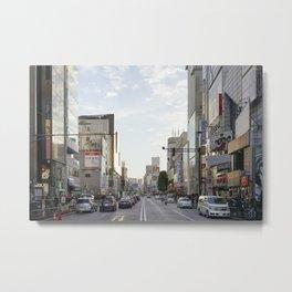 Harajuku Metal Print