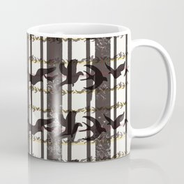 bird plaid Coffee Mug