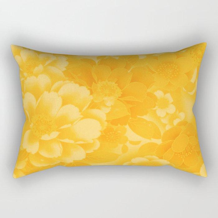 sunny floral Rectangular Pillow