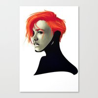sci fi Canvas Prints featuring SCi by Noah Ocean