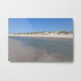 Outer Banks Beach Metal Print