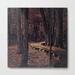 Forest B1 Metal Print